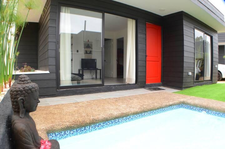 Cabañas de lujo Marina Zen con piscina privada