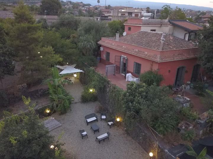 Chalet Villa Lidia Acireale  mare Etna parcheggio