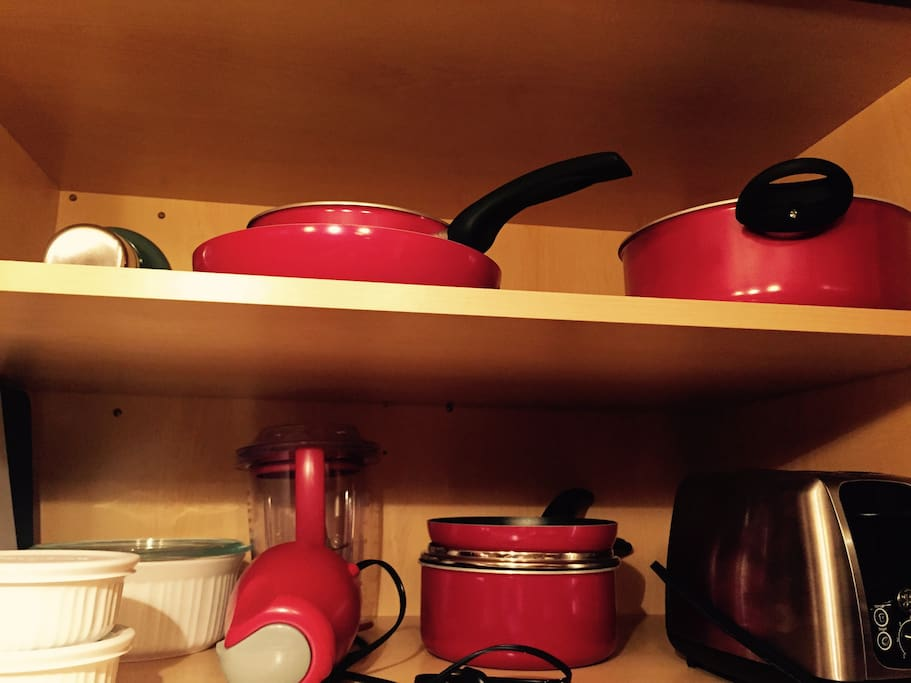 Cooking necessities available