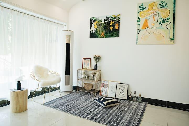 【NOMO - 北欧空间】绝美艺术复式独立公寓 市中心地铁口 近五一广场/火车站/IFS/橘子洲