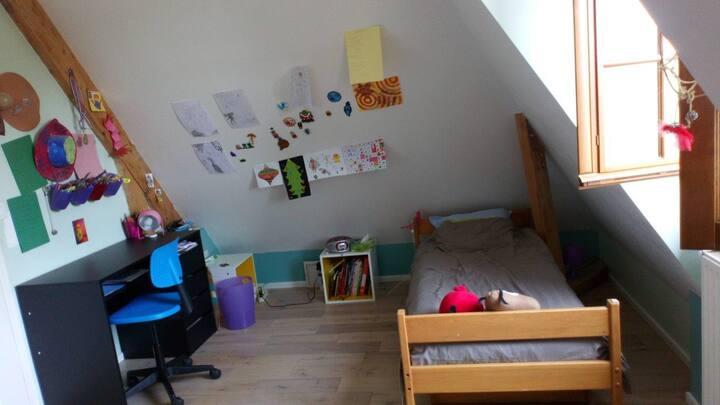 Chambre pour étudiant passant les oraux...