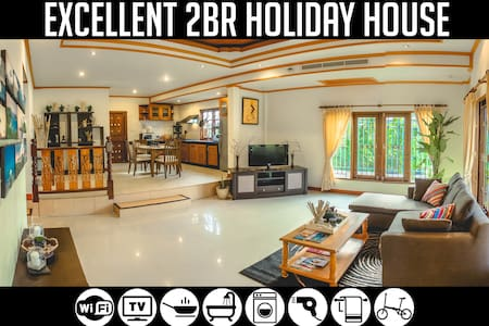 2BR Holiday House near Bang-Tao Beach, Sleeps 5-6