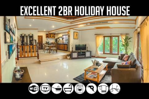 2BR Holiday House near Bang-Tao Beach, Sleeps 5-6
