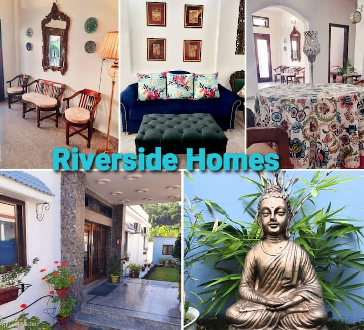 RIVERSIDE HOMES, indep rooms in a Boutique hotel