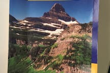 This book is available in the guest suite. Details every trail in the International Peace Park.