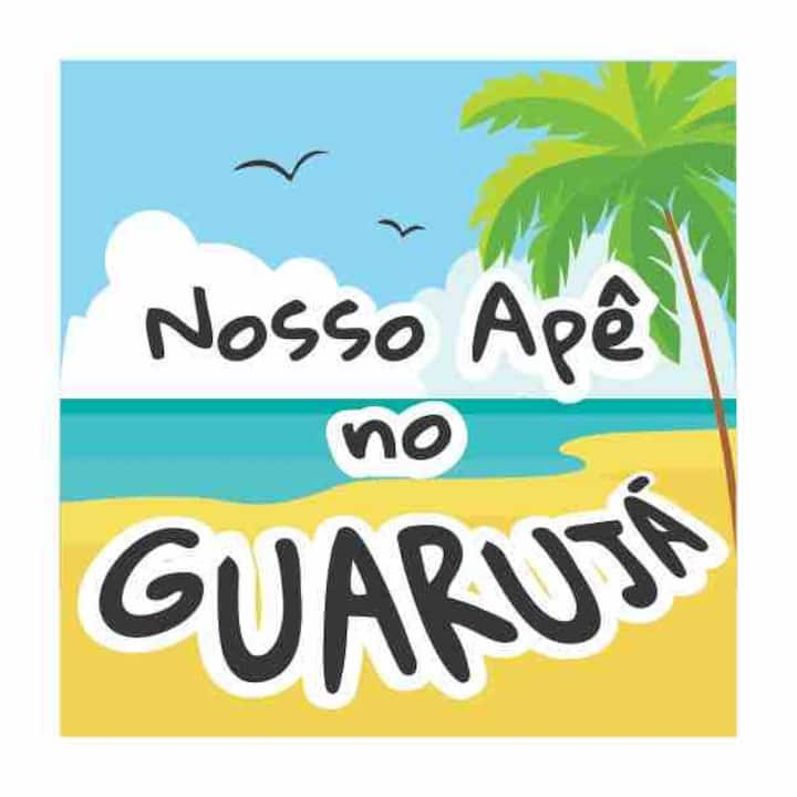 Nosso apê no Guarujá