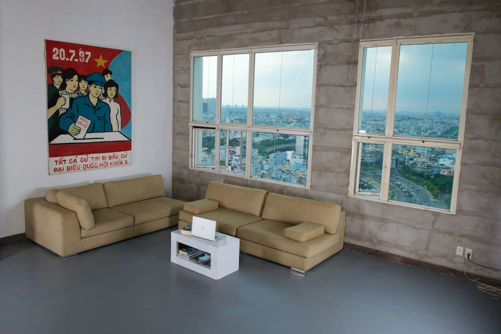 Lounge Area Without Floor