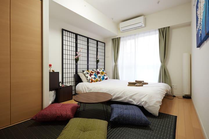 15 Haneda Airport 10min/Free wifi/MAX 3Guest - Ōta-ku - Apartemen