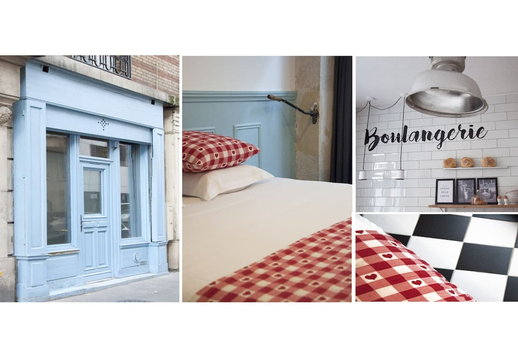 Sleep in a Bakery ! Amazing space of 20m2 in a former Parisian bakery!