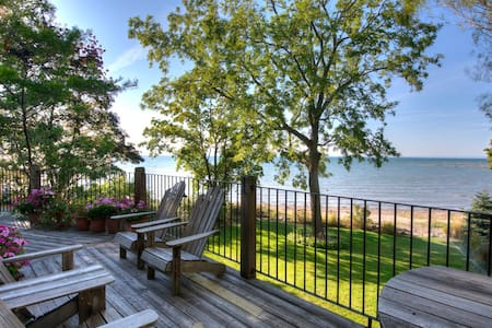 Ripple Cove Cottage - Private Beach - Fort Erie