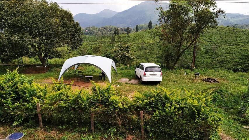Tents Beside Pinewoods(Bunker room complementary*)