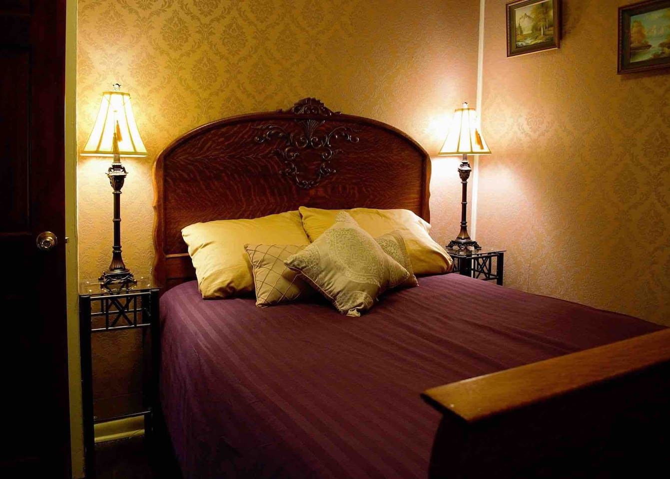 Water Lily Bedroom, nice comfy bed