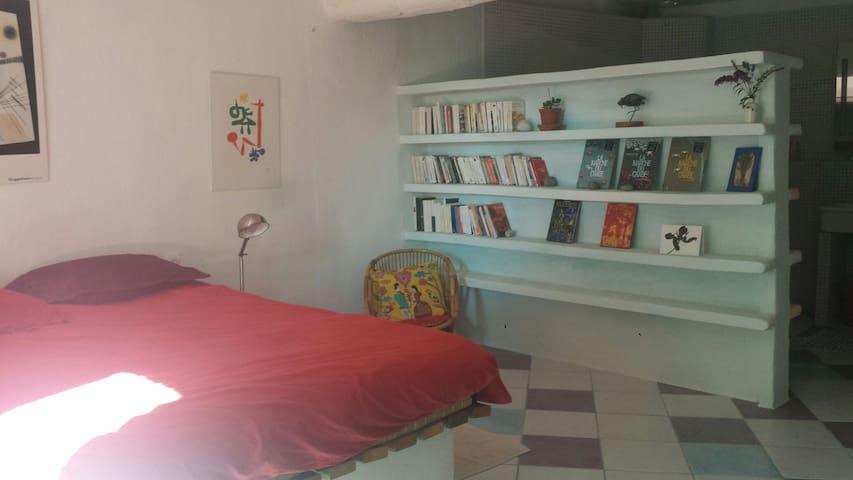 Belle chambre indépendante - Lectoure - Maison