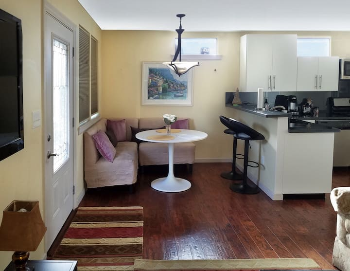 1 BR Detached In-Law. Downtown Redwood City