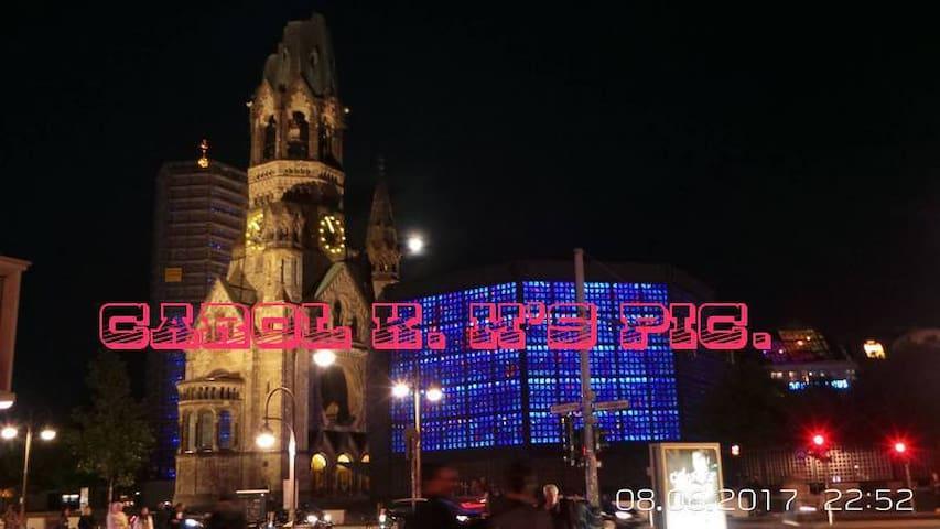 Kurfürstendamm, Zoologischer Garten, Messe & Tegel