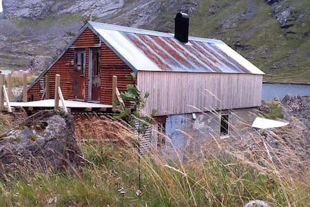 Fjøs i naturskjønne Lofoten - Cabaña