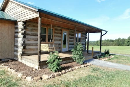 Private Handmade Log Cabin for 6 - Pilot Mountain
