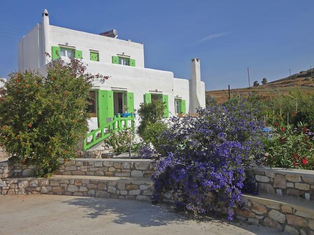 Villa Armonia: Splendid view to the Aegean sea - Piso Livadi - วิลล่า