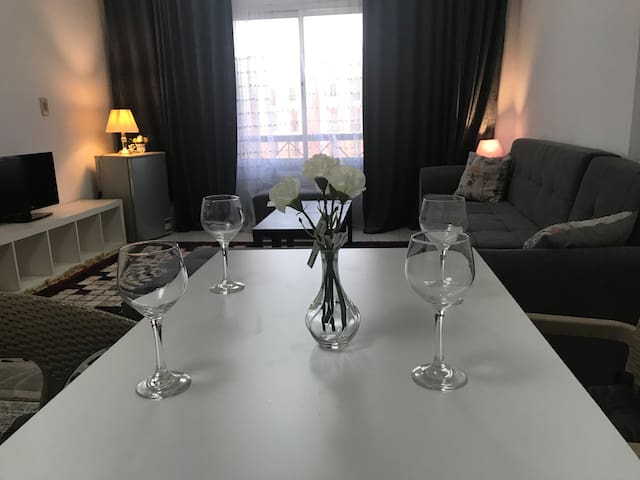 Furnished quiet apartment at Rehab city