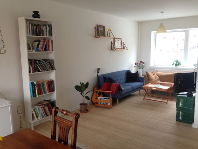 Bright and charming flat close to Botanical Garden - Aarhus - Lägenhet