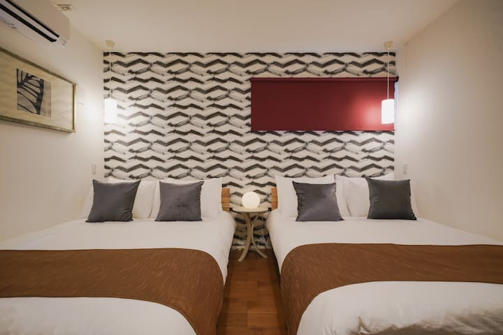 A : Twin Bed Room(Double)