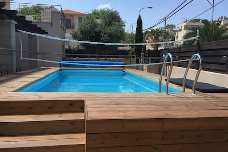 Kosher Villa with swimming pool in Zikhon Yaacov - Zikhron Ya'akov - 別荘