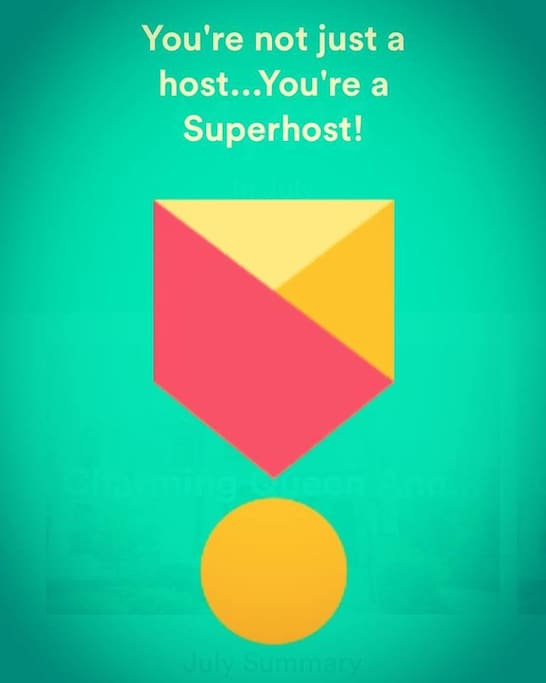 Superhost since July 2015! 5-star reviews!