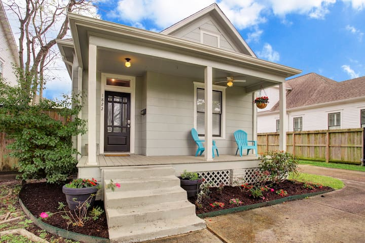 Houston Heights Victorian Bungalow - Houston - Huis
