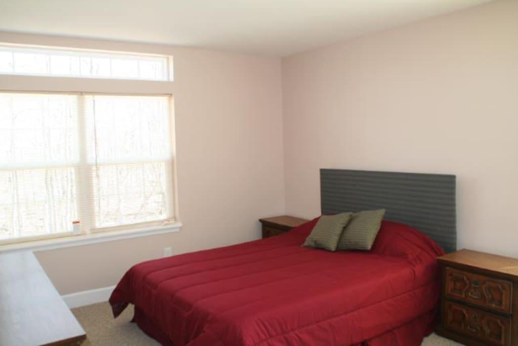 Bedroom 2- 2nd floor, Guest queen bed.