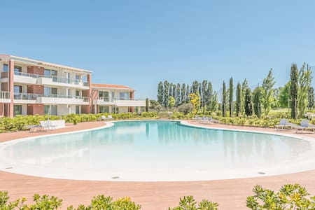 Holiday apartment with 1 bedroom on 53m² in Jesolo