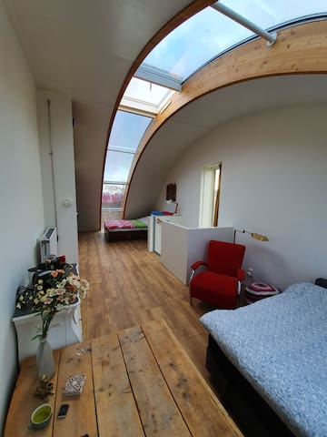 Nice Bright Room near Haarlem City Center