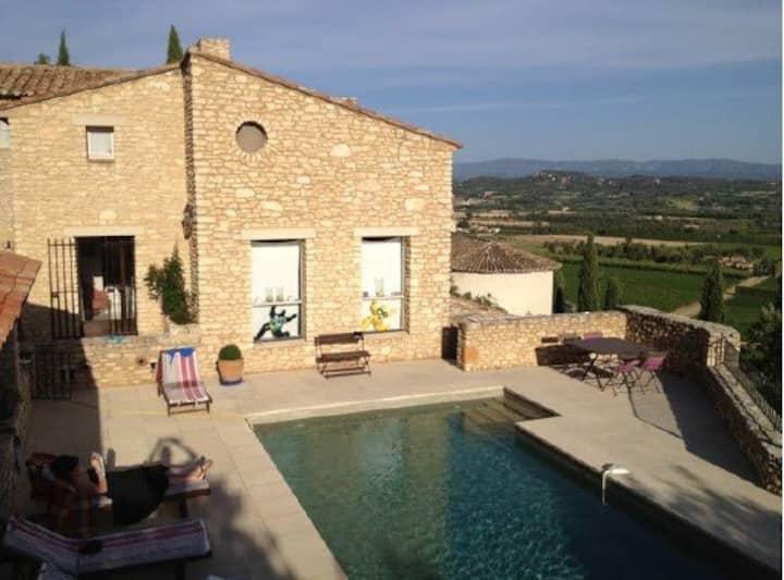 Villa avec piscine privée dans le Luberon