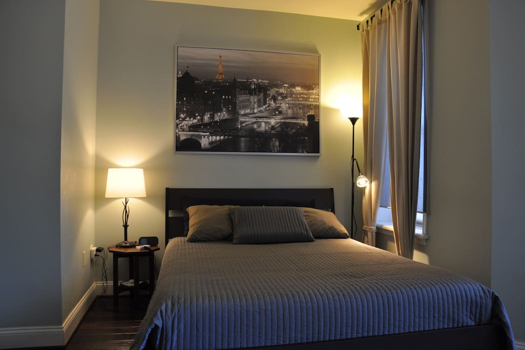 The Paris: Master Bedroom