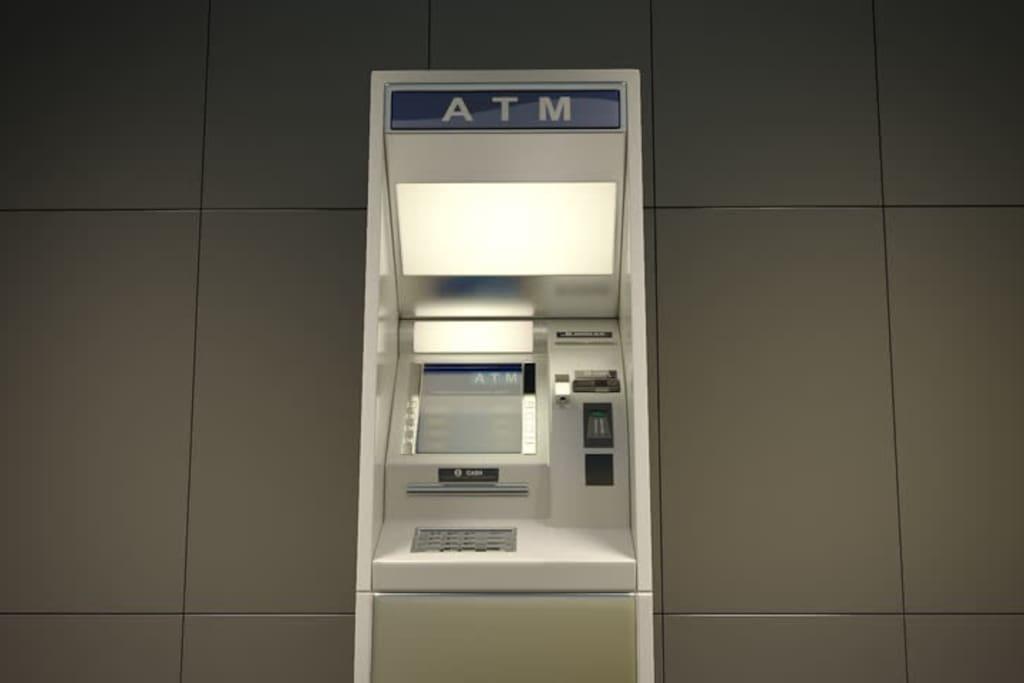 ATM Machine inside the building