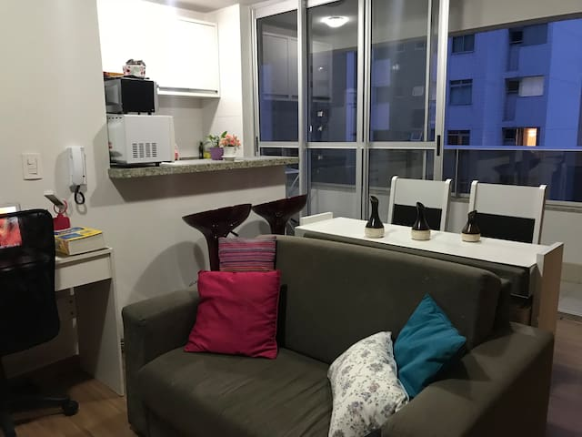 Beautiful apartment in Lourdes, heart of BH!