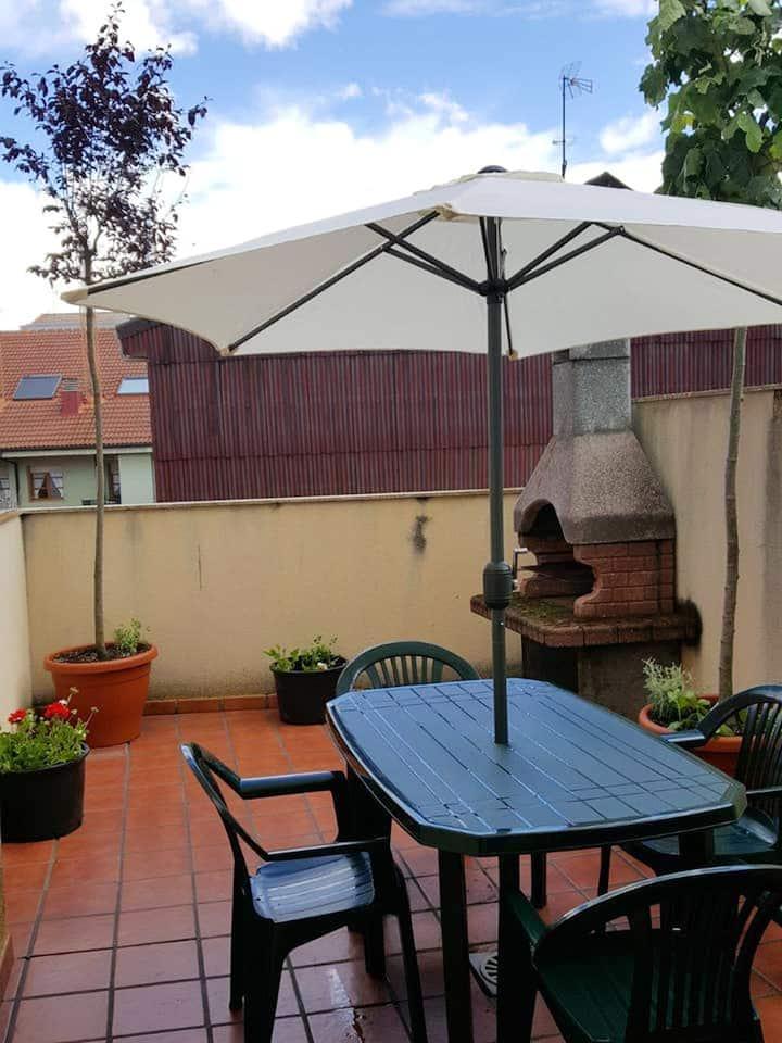 Apartamento de 3 habitaciones en Astorga, con terraza amueblada y WiFi