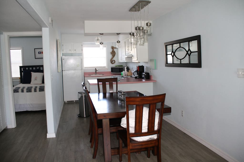 Dining Area, Kitchen, and Guest Bedroom