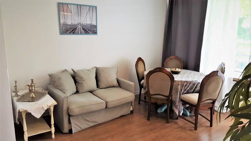 Shabby chic Wohnung 15 Min entfernt von Düsseldorf