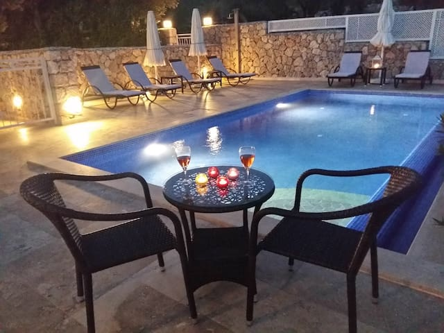 Luxury 3 bedroom apartment with private pool - Kalkan  - Wohnung