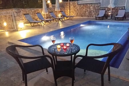 Luxury 3 bedroom apartment with private pool - Kalkan  - Apartmen