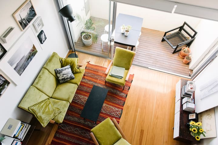 Loft apartment in centre of Newtown - Newtown - Apartment