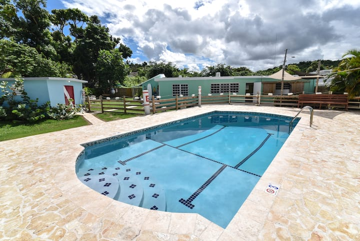 3 Bedroom, Private Pool, Steps Away From The Beach