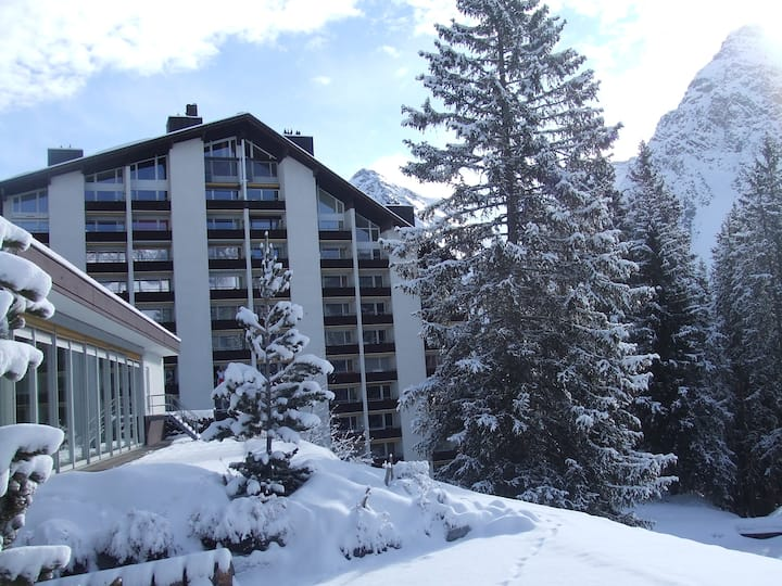 Standardwohnung mit Kamin  in Arosa, Rothornblick