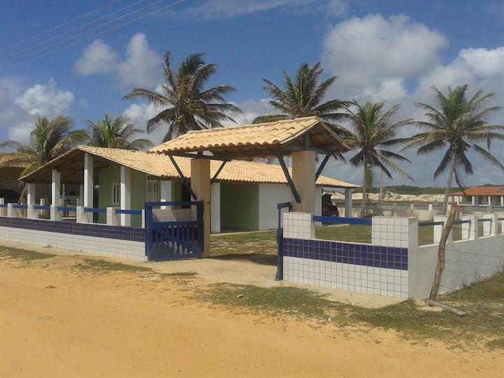 Aconchego a beira mar - Praia Abais - Estância/SE