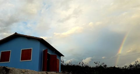 Casa Azul na Chapada Diamantina