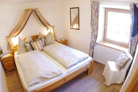 Kleineres Doppelzimmer am Moarhof/Raftingcamp - Palfau - Bed & Breakfast