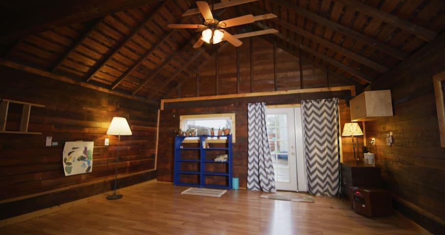 Basement Apartment + Garden Lodge