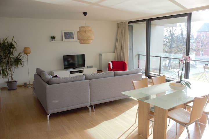 Appartement lumineux avec garage s curis gratuit for Garage securise a louer