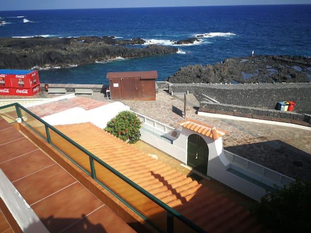 Vistas desde la terraza solarium de 60m2 en 2º planta.