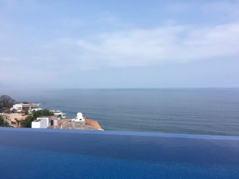 The Ocean View from the Infinity Pool